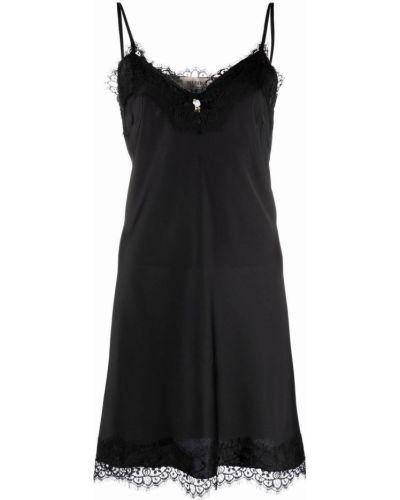 Кружевная ночнушка - черная Blugirl