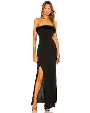 Вечернее платье с декольте с поясом Flynn Skye