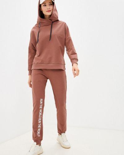 Костюмный коричневый спортивный костюм Winzor