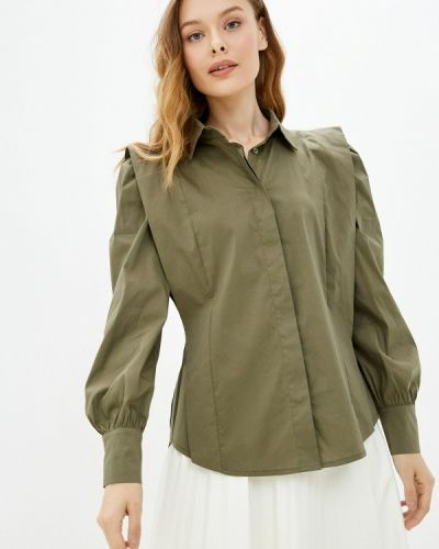Блузка с длинными рукавами - хаки Silvian Heach