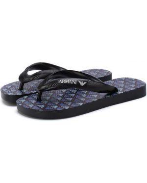 Шлепанцы для обуви с логотипом Emporio Armani