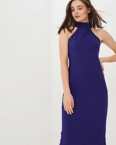 Вечернее платье весеннее синее Auden Cavill
