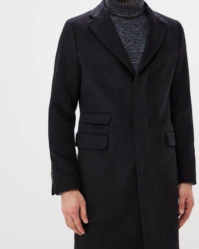 Черное пальто осеннее United Colors Of Benetton