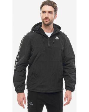 Куртка с капюшоном черная Kappa