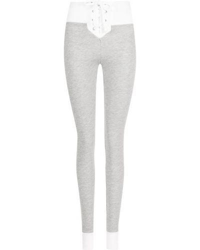 Серые брюки Wildfox