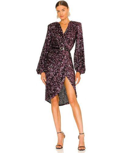 Платье миди классическое - фиолетовое Bronx And Banco