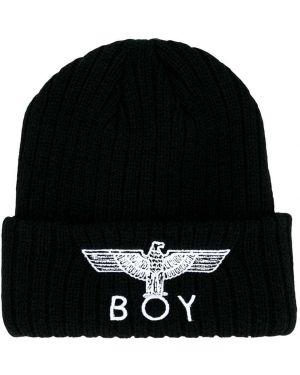 Черная шапка Boy London Kids