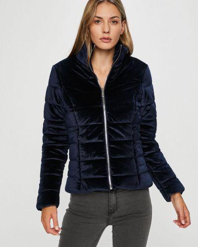 Стеганая куртка с карманами утепленная Morgan