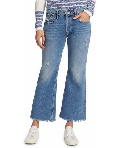 Jeansy bawełniane rozkloszowane Rag & Bone