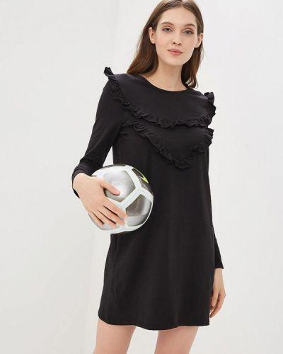 Черное платье с длинными рукавами Ovs
