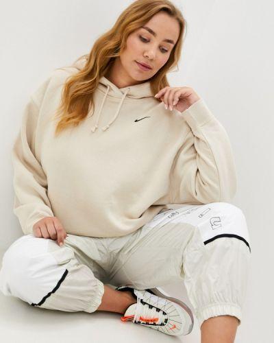 Бежевая толстовка Nike