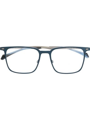 Оправа для очков прозрачные - синие Boss Hugo Boss