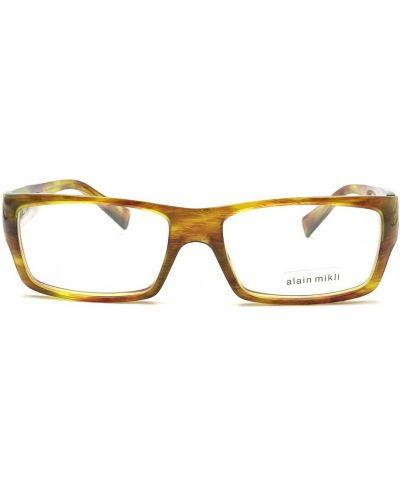 Pomarańczowe okulary Alain Mikli