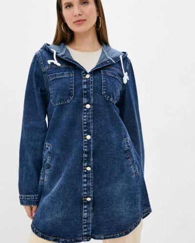 Синяя джинсовая куртка Chic De Femme