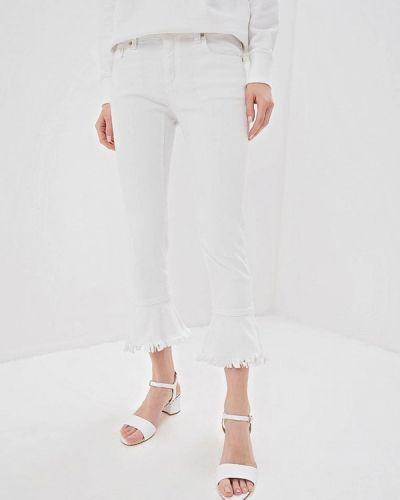 Широкие джинсы расклешенные белые Michael Michael Kors