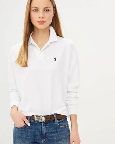 Белое поло Polo Ralph Lauren