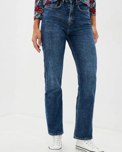Прямые синие прямые джинсы Pepe Jeans
