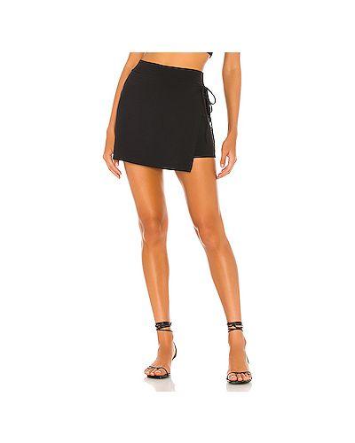 Нейлоновая черная юбка Susana Monaco