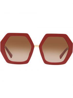 Прямые муслиновые солнцезащитные очки Valentino Eyewear
