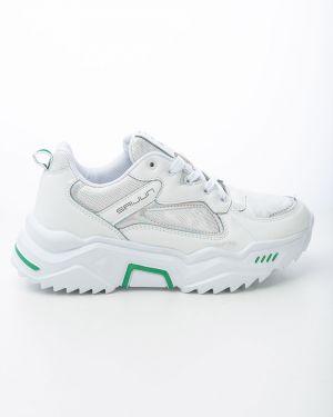 Повседневные белые кроссовки Saijun