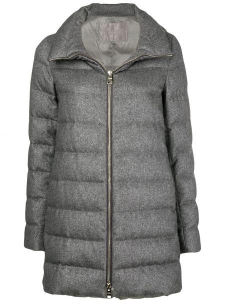 Куртка на молнии кашемировая Herno