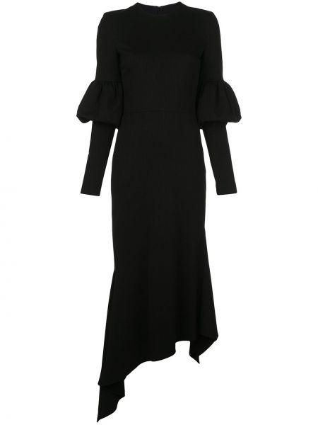 Платье на молнии - черное Christian Siriano