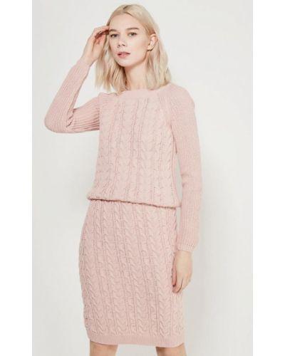 Розовый юбочный костюм Fashion.love.story