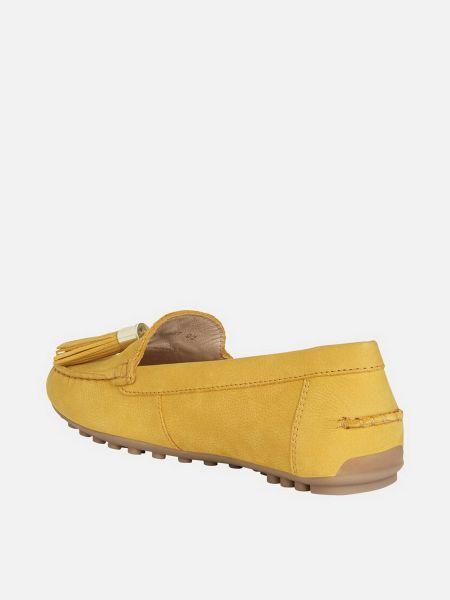 Желтый топ Geox