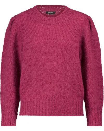 Розовый шерстяной свитер Isabel Marant