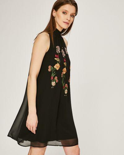 Платье мини с вышивкой прямое Desigual