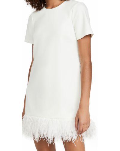 Платье с бахромой - белое Likely