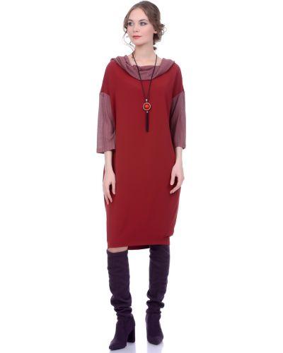 Платье миди в стиле бохо кокон Lautus