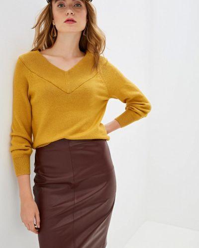 Желтый пуловер Jacqueline De Yong