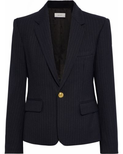 Пиджак с карманами на пуговицах из вискозы A.l.c.