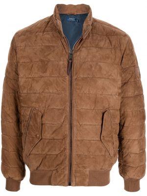 Коричневая куртка на шпильке Polo Ralph Lauren