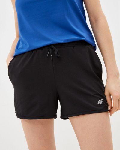 Черные спортивные шорты 4f
