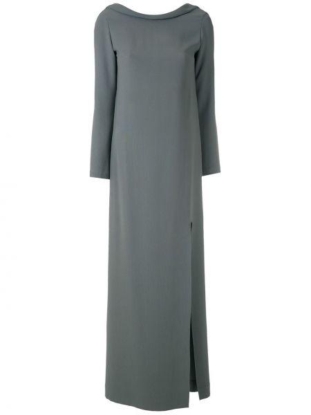 Платье макси длинное - зеленое Gloria Coelho