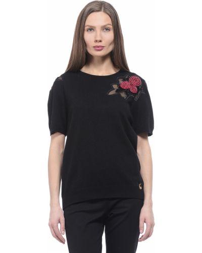 Черная футболка Love Moschino