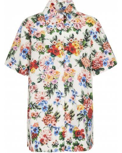 Белая хлопковая рубашка Emilia Wickstead
