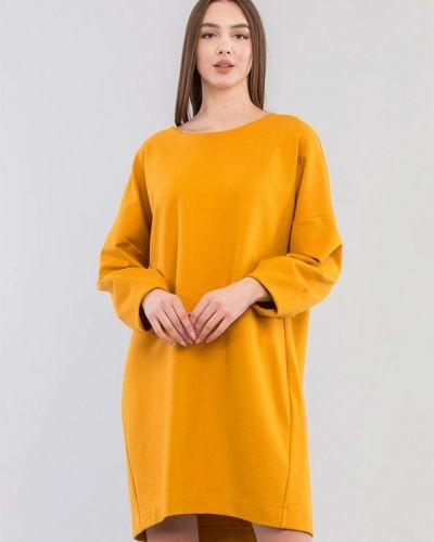 Желтое платье Maxa
