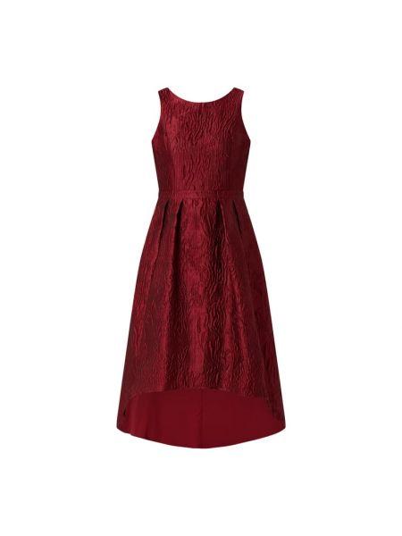 Sukienka koktajlowa rozkloszowana bez rękawów Apart Glamour