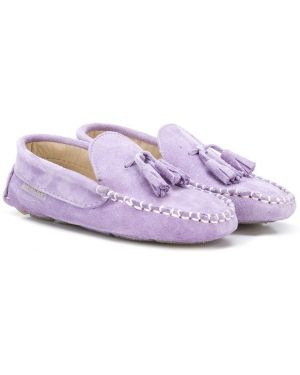 Мокасины замшевый для обуви Babywalker