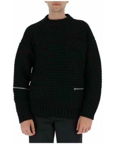 Czarny sweter Sacai