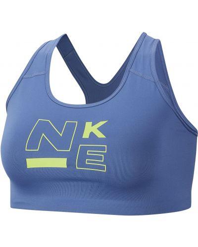 Fioletowy biustonosz sportowy Nike