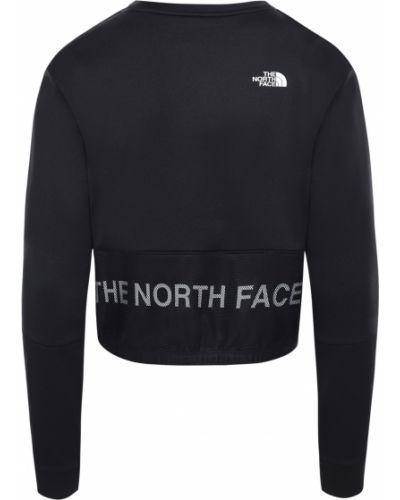Черный длинный свитер с вырезом круглый The North Face