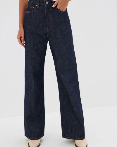 Широкие джинсы расклешенные синие Levi's®