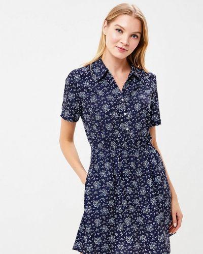 Синее платье весеннее Calvin Klein Jeans