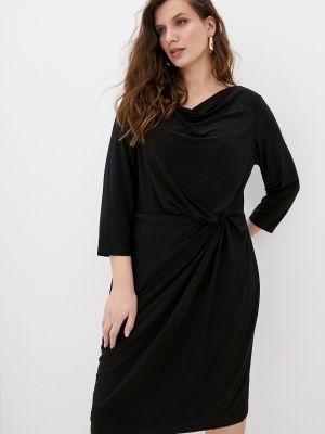 Повседневное черное платье Lauren Ralph Lauren Woman