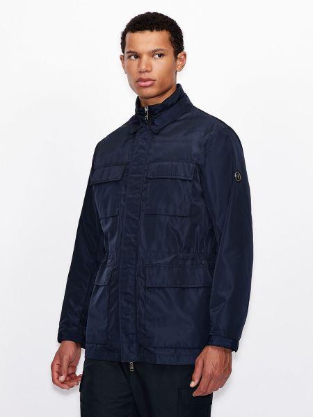 Повседневная куртка - синяя Armani Exchange