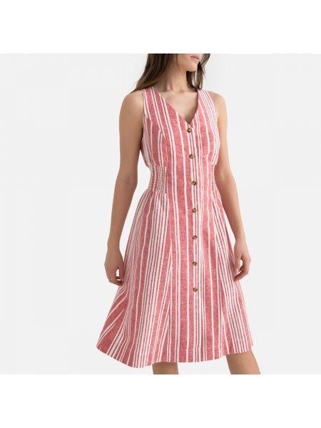 Летнее платье миди макси La Redoute